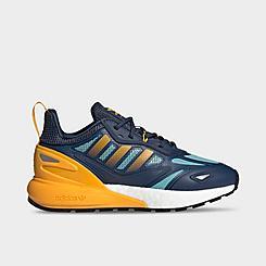 Boys' Big Kids' adidas Originals ZX 2K BOOST 2.0 Casual Shoes