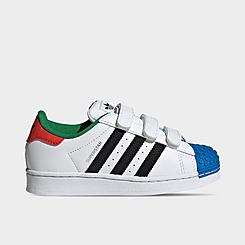 Little Kids' adidas Originals Superstar x LEGO® Casual Shoes