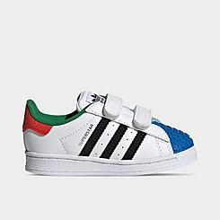 Kids' Toddler adidas Originals Superstar x LEGO® Casual Shoes