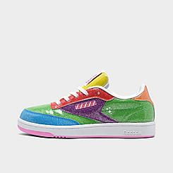 Little Kids' Reebok Candy Land Classic Club C Casual Shoes