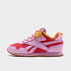 Girls' Little Kids' Reebok Peppa Pig Royal Classic Jogger 3 Casual Shoes