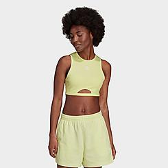 Women's adidas Originals Adicolor Essentials Rib Tank Top