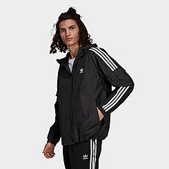 Men's adidas Originals Adicolor 3-Stripes Windbreaker Jacket