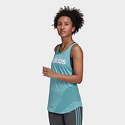 Women's adidas LOUNGEWEAR Essentials Logo Loose Tank