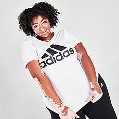 Women's adidas Essentials Logo T-Shirt (Plus Size)