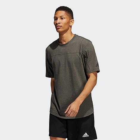 Adidas Men's City Base T-Shirt in Green/Orbit Green Size Small Cotton/Polyester/Jersey Size & Fit Standard fit is athletic and relaxed Made from Sustainable Materials Feel great about wearing this shirt, made primarily from recycled polyester. By turning trash to treasure with high-grade performance materials, we can cut down on harmful waste and build a greener tomorrow 74% recycled polyester, 19% cotton, 7% elastane single jersey Product Features Soft and stretchy fabric for a comfortable wear perfect for the gym Moisture-absorbing AEROREADY performance material keeps you dry and cool Curved droptail hem for full coverage to support you through your workout Machine wash The adidas City Base T-Shirt is imported. Slip on the versatile Men's adidas City Base T-Shirt before stepping out. Whether you want everyday comfort to lounge in or high-performance material for an intense workout, drape yourself in this tee to be prepared for whatever the day throws at you. Size: Small. Gender: male. Age Group: adult. Material: Cotton/Polyester/Jersey. Adidas Men's City Base T-Shirt in Green/Orbit Green Size Small Cotton/Polyester/Jersey