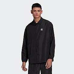 Men's adidas Originals Adicolor Trefoil Coach Jacket