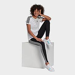 Women's adidas Originals Trefoil 3-Stripes Leggings