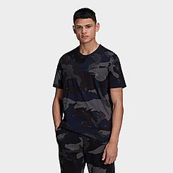 Men's adidas Originals Graphics Camo Allover Print T-Shirt
