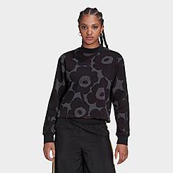 Women's adidas Originals x Marimekko Allover Print Sweatshirt