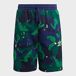 Boys' adidas Originals Allover Camo Print Shorts
