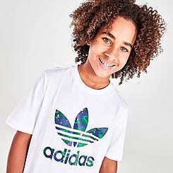 Boys' adidas Originals Camo Print Graphic T-Shirt