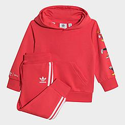Girls' Infant and Toddler adidas Originals Disney Mickey and Friends Hoodie and Pants Set