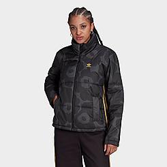Women's adidas Originals x Marimekko Short Puffer Jacket