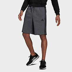 Men's adidas Essentials 3-Stripes Fleece Shorts