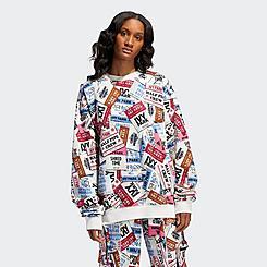 adidas x IVY PARK Ski Tag Print Crewneck Sweatshirt (3XS - 3XL)