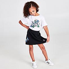Girls' Little Kids' adidas Originals HER Studio London T-Shirt and Skort Set