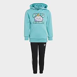 Boys' Toddler adidas Originals x Kevin Lyons Monsters Pullover Hoodie and Jogger Pants Set