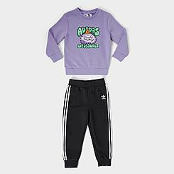 Kids' Infant adidas Originals Monster Crewneck Sweatshirt and Jogger Pants Set