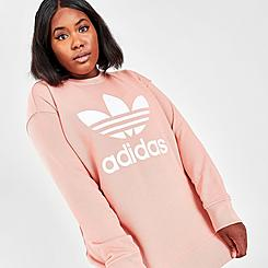 Women's adidas Originals Trefoil Crewneck Sweatshirt (Plus Size)