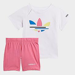 Infant and Kids' Toddler adidas Originals Adicolor T-Shirt and Shorts Set
