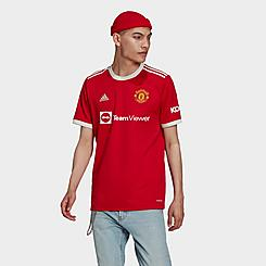 Men's adidas Manchester United 2021/22 Home Soccer Jersey