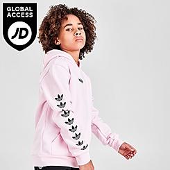 Girls' adidas Originals Repeat Trefoil Pullover Hoodie
