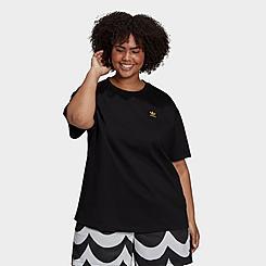 Women's adidas Originals x Marimekko Oversized T-Shirt (Plus Size)