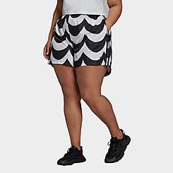 Women's adidas Originals Marimekko Shorts (Plus Size)