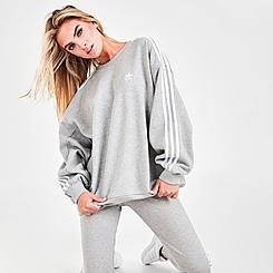 Women's adidas Originals Adicolor Classics Oversized Crewneck Sweatshirt