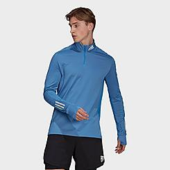 Men's adidas Own The Run Half-Zip Warm Sweatshirt