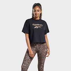 Women's Reebok Classics Animal Print Graphic T-Shirt