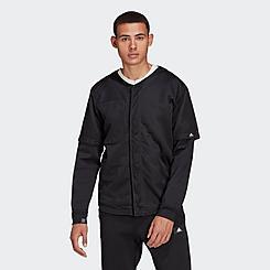 Men's adidas Sportswear Baseball Reversible Track Jacket