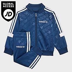 Boys' Infant and Toddler adidas Originals SST Track Jacket and Pants Set