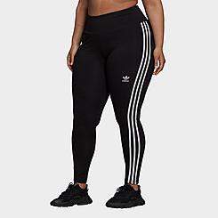Women's adidas Originals Adicolor Classics 3-Stripes Leggings (Plus Size)
