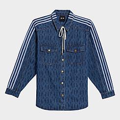 adidas x IVY PARK Monogram Denim Shirt
