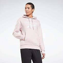 Women's Reebok Identity Big Logo Fleece Pullover Hoodie