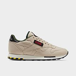 Men's Reebok Ghostbusters Classic Leather Casual Shoes