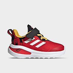 Kids' Toddler adidas FortaRun x Disney Mickey Mouse Hook-and-Loop Running Shoes