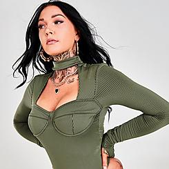 Women's Reebok Cardi B Bodysuit