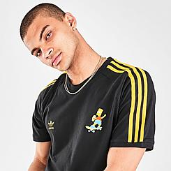 Men's adidas Originals x The Simpsons 3-Stripes T-Shirt