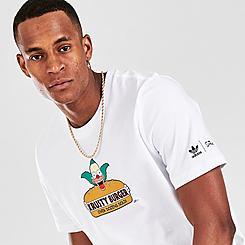 Men's adidas Originals x The Simpsons Krusty Burger T-Shirt