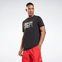 Men's Reebok Camo Box Graphic T-Shirt