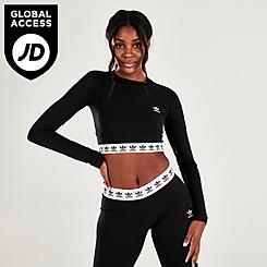 Women's adidas Originals Cropped Long-Sleeve T-Shirt
