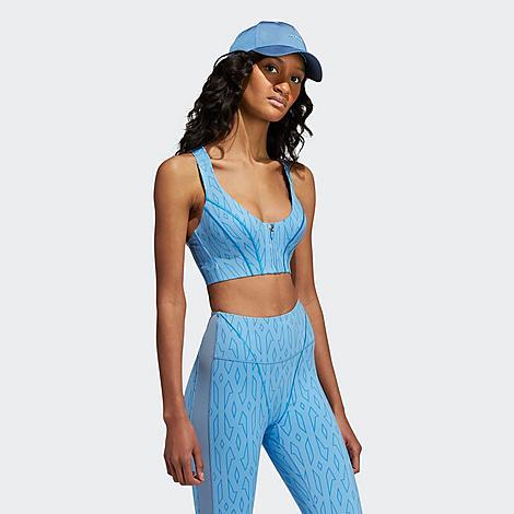 Adidas Originals ADIDAS WOMEN'S X IVY PARK MONOGRAM CUTOUT MEDIUM-SUPPORT SPORTS BRA (XS - XL)