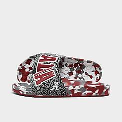 Hype Co. Alabama Crimson Tide College Slydr Slide Sandals