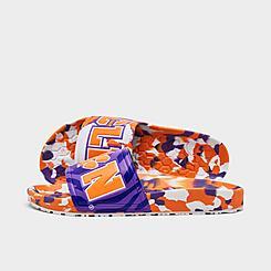 Hype Co. Clemson Tigers College Slydr Slide Sandals