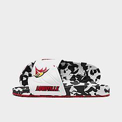 Hype Co. Louisville Cardinals College Slydr Slide Sandals