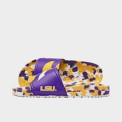 Hype Co. LSU Tigers College Slydr Slide Sandals