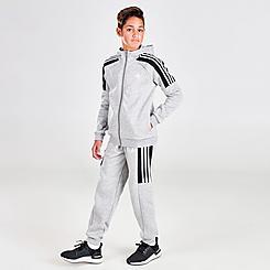 Boys' adidas Full-Zip Hoodie and Jogger Pants Set